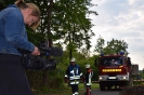 Drehtag mit Bayerischen Rundfunk - Gaffer